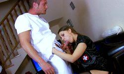 C'est toujours très agréable d'avoir une infirmière à domicile